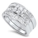Silver CZ Ring - $18.54