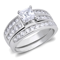 Silver Weding Ring Sets - $12.15