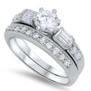 Silver CZ Ring - $10.45