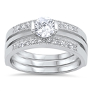 Silver CZ Ring - $13.82