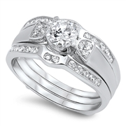 Silver CZ Ring - $12.86