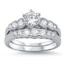 Silver CZ Ring - $11.36