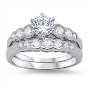 Silver CZ Ring - $10.33