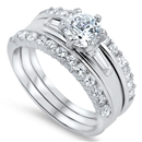 Silver CZ Ring - $15.52