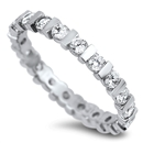 Silver CZ Ring - $6.04
