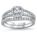 Silver CZ Ring - $10.84