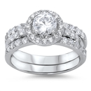Silver CZ Ring - $13.28