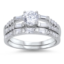 Silver CZ Ring - $10.54