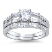 Silver CZ Ring - $9.58