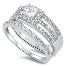 Silver CZ Ring - $12.36