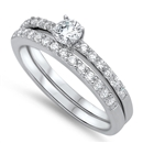 Silver CZ Ring - $10.07