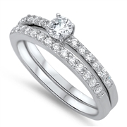 Silver CZ Ring - $9.15
