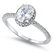 Silver CZ Ring - $7.66