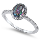 Silver CZ Ring - $6.99