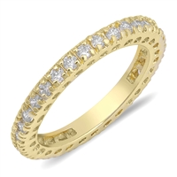 Silver CZ Ring - $5.84