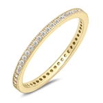 Silver CZ Ring - $4.48
