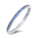 Silver CZ Ring - $4.85