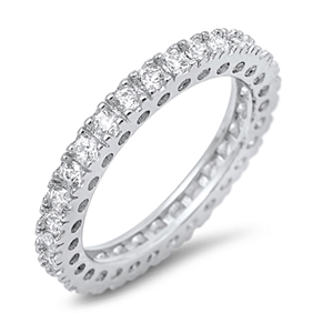 Silver CZ Ring - $6.37