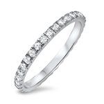 Silver CZ Ring - $3.95