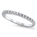 Silver CZ Ring - $4.17