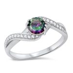 Silver CZ Ring - $5.93