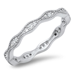 Silver CZ Ring - $5.03