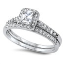 Silver CZ Ring - $9.05