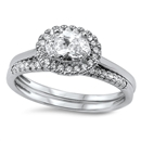 Silver CZ Ring - $10.19