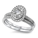 Silver CZ Ring - $10.35