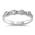 Silver CZ Ring - $4.79