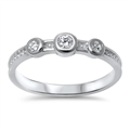 Silver CZ Ring - $4.81