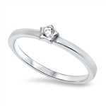 Silver CZ Ring - $3.83