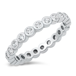 Silver CZ Ring - $6.95
