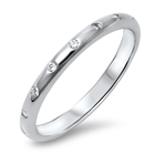 Silver CZ Ring - $4.74
