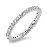 Silver CZ Ring - $6.33