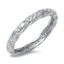 Silver CZ Ring - $6.90