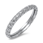 Silver CZ Ring - $6.20