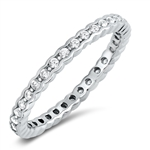 Silver CZ Ring - $5.98