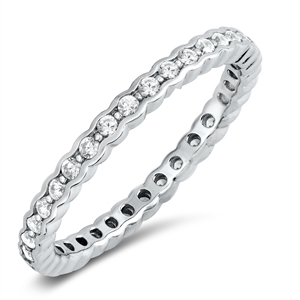 Silver CZ Ring - $6.51
