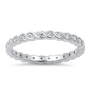 Silver CZ Ring - $4.87