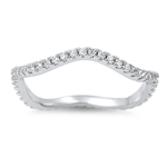 Silver CZ Ring - $5.1