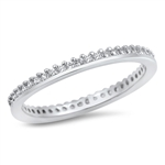 Silver CZ Ring - $4.88