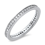Silver CZ Ring - $5.7
