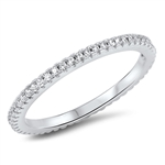 Silver CZ Ring - $5.31
