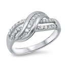 Silver CZ Ring - $6.42