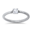 Silver CZ Ring - $5.08
