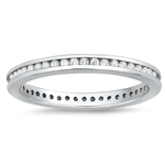 Silver CZ Ring - $6.02