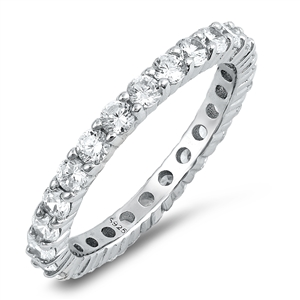Silver CZ Ring - $6.34