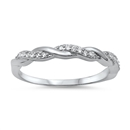 Silver CZ Ring - $4.72