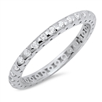 Silver CZ Ring - $5.15